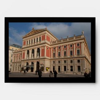 Musikverein, Wien Österreich Envelope