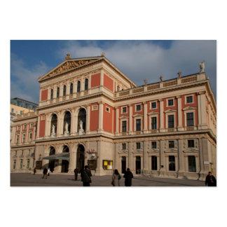 Musikverein, Wien Österreich Large Business Card