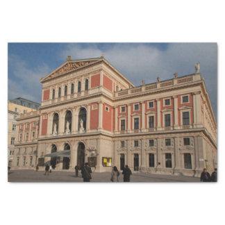 Musikverein, Wien Österreich Papel De Seda Pequeño