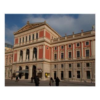 Musikverein, Wien Österreich Poster