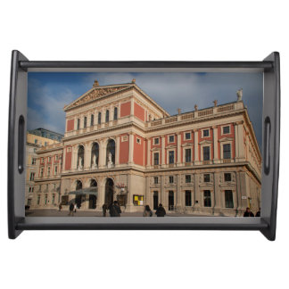 Musikverein, Wien Österreich Serving Tray