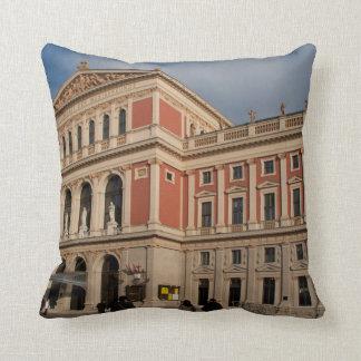 Musikverein, Wien Österreich Throw Pillow