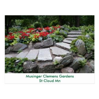 Musinger Clemens Garden Postcard