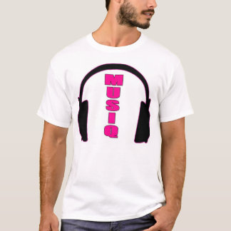 Musiq w/Headphones T-Shirt