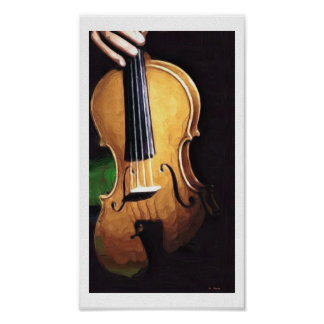 musique 2_Painting Poster