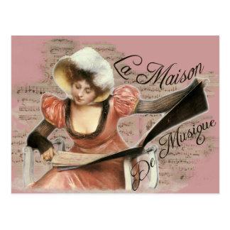 Musique Postcard