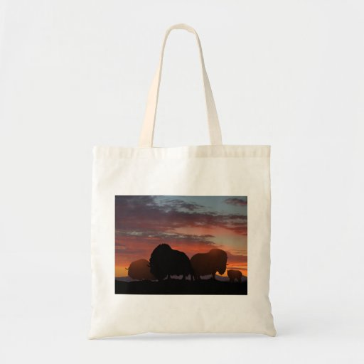 Musk Ox Canvas Bags