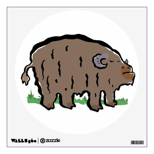 musk-ox wall sticker