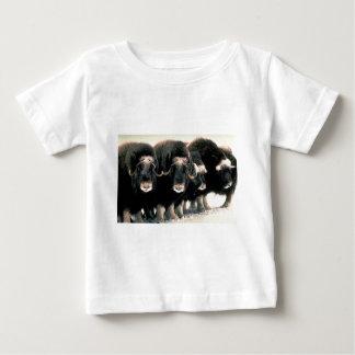 Musk Oxen Baby T-Shirt