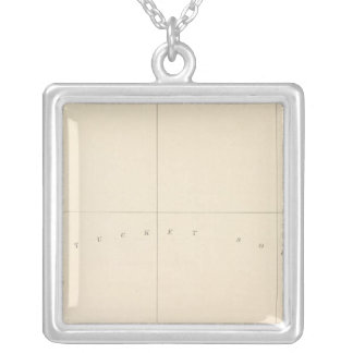 Muskeget, Massachusetts Silver Plated Necklace