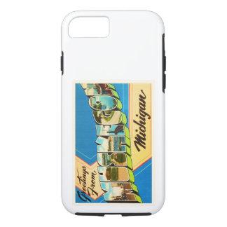 Muskegon Michigan MI Old Vintage Travel Souvenir iPhone 7 Case