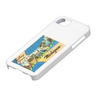 Muskegon Michigan MI Old Vintage Travel Souvenir iPhone SE/5/5s Case