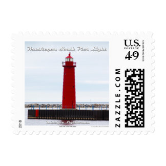 Muskegon South Pier Light: 1st Class Stamp