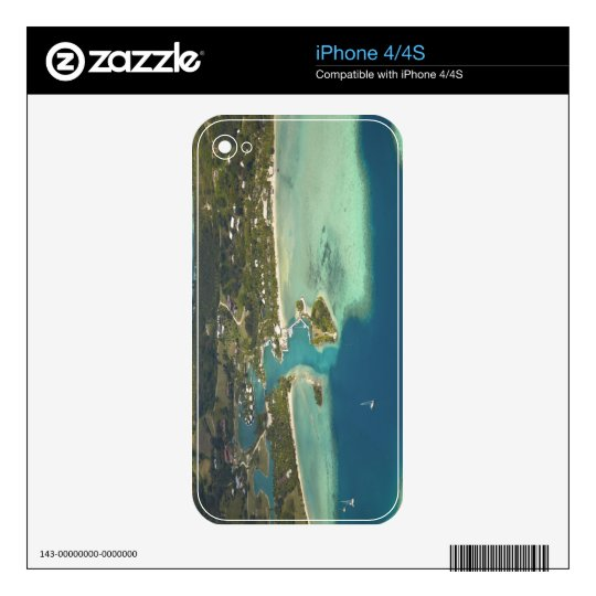 Musket Cove Island Resort, Malolo Lailai Island iPhone 4S Decal
