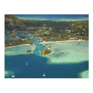 Musket Cove Island Resort, Malolo Lailai Island Postcard