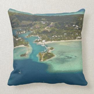 Musket Cove Island Resort, Malolo Lailai Island Throw Pillow