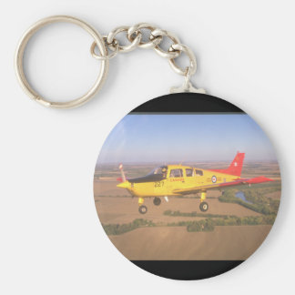 Musketeer Air Force Trainer_Military Aircraft Keychain