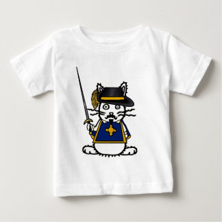 Musketeer Bunny Baby T-Shirt