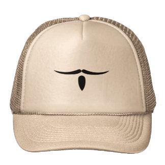Musketeer Mustache Trucker Hats