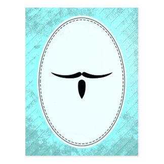 Musketeer Mustache Postcard