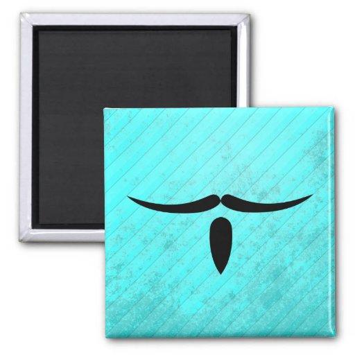 Musketeer Mustache Refrigerator Magnet