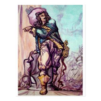 Musketeer Postcard