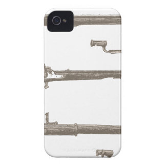 Muskets Old Rifles Vintage Antique Guns iPhone 4 Case-Mate Case