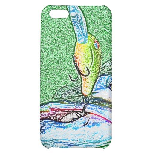 Muskie Fishing art iPhone 5C Cases