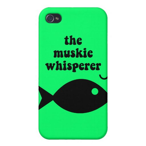 muskie fishing iPhone 4/4S cases