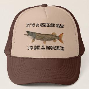 cd36180a56cc6 Muskie Fishing Baseball   Trucker Hats