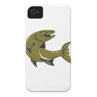 Muskie Muskellunge Fish Retro iPhone 4 Case-Mate Case