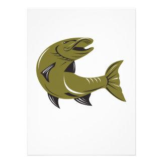 Muskie Muskellunge Fish Retro Personalised Invitations