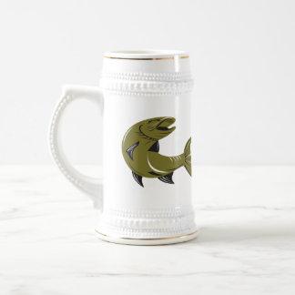 Muskie Muskellunge Fish Retro Beer Steins