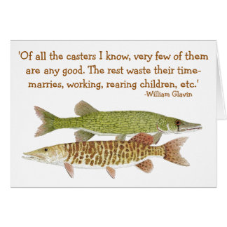 Muskie & Pickerel Card