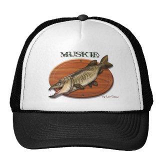 Muskie-Plaque Mesh Hats