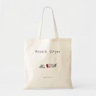 Muskie Slayer Canvas Bag