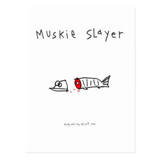 Muskie Slayer Postcard