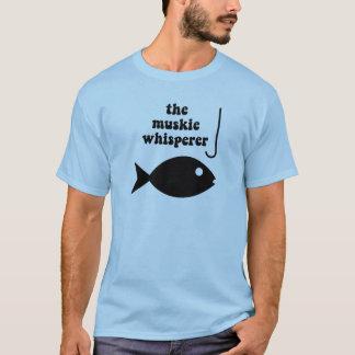 muskie whisperer fishing T-Shirt