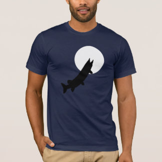 Muskies by Moonlight - Going through a phase T-Shirt