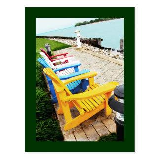 Muskoka / Adirondack Chairs Postcard