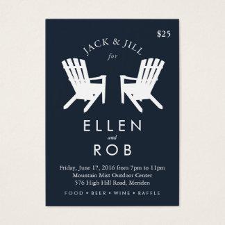 Muskoka Chair Jack and Jill Ticket // Navy