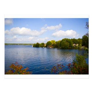 muskoka lake post card