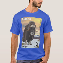 Muskox - Alaska Postage T-Shirt