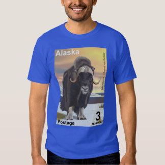 Muskox - franqueo de Alaska Remeras