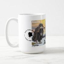 Muskox Souvenir Coffee Mug