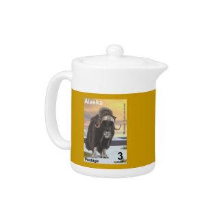Muskox Teapot