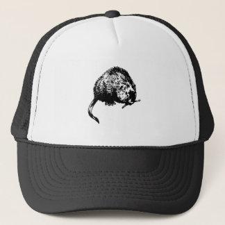 Muskrat (illustration) trucker hat