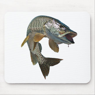 Musky 4 mouse pad