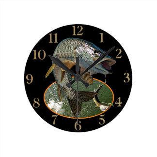 Musky 6 round clock