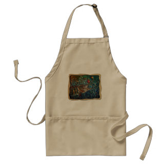 MUSKY Bucktl Bordered Adult Apron